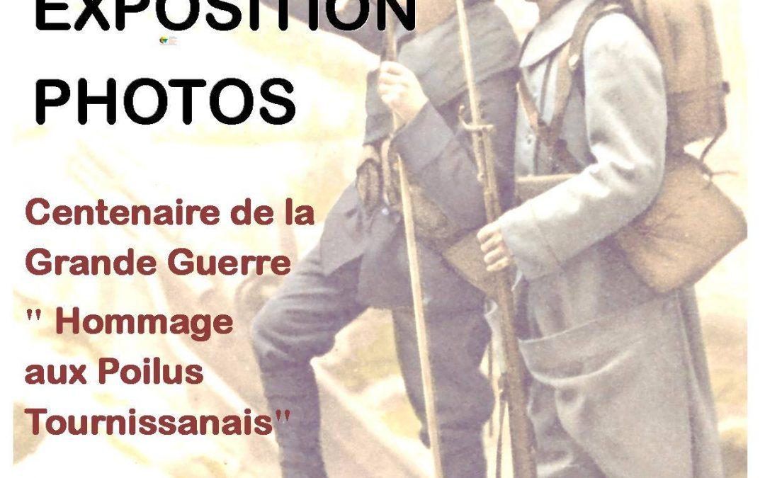 Le sentier Franics Lastenouse : Exposition du centenaire de la grande guerre