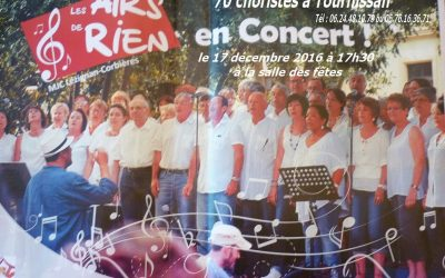70 choristes en concert