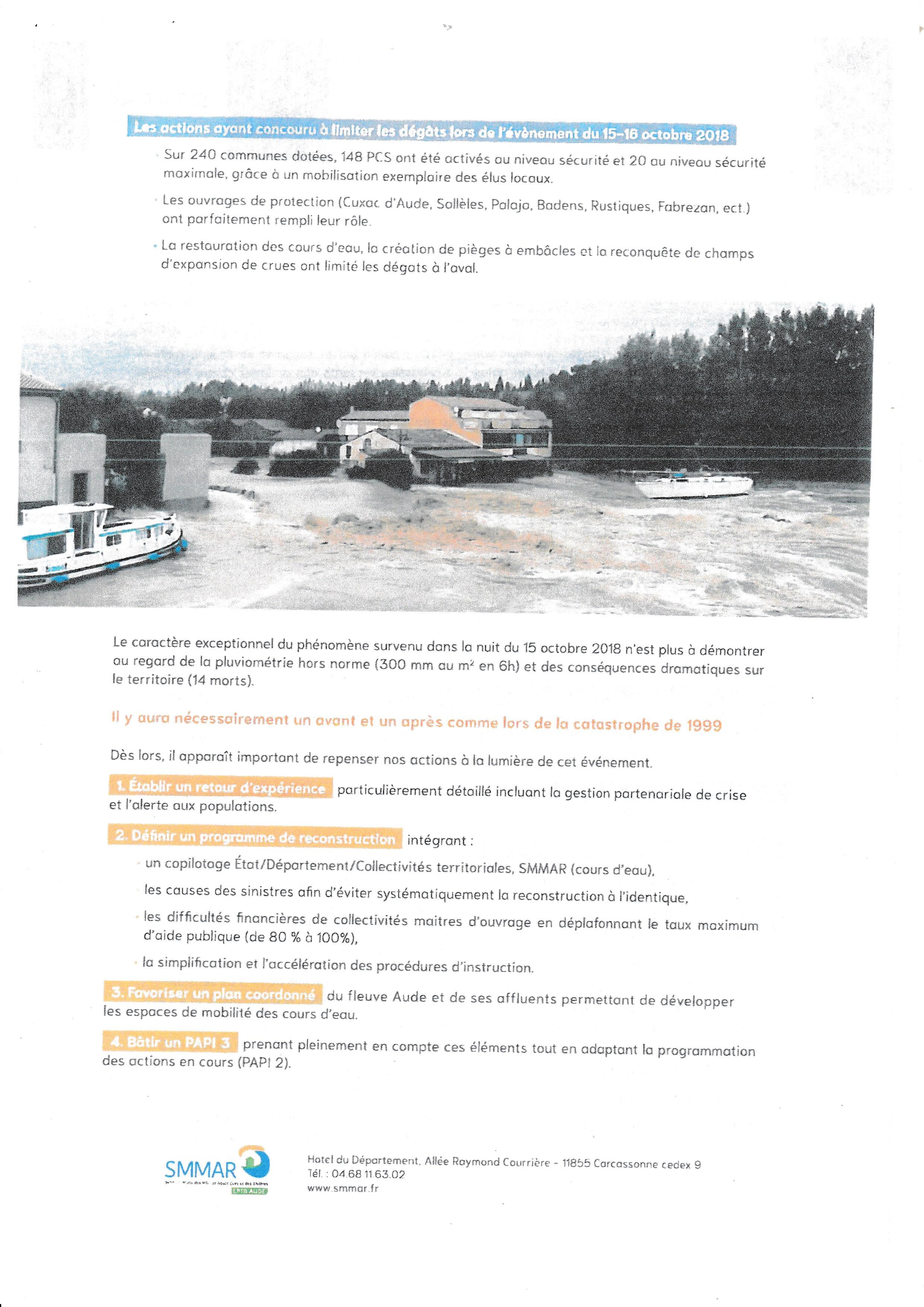 crue de l'Aude et de ses affluents 2
